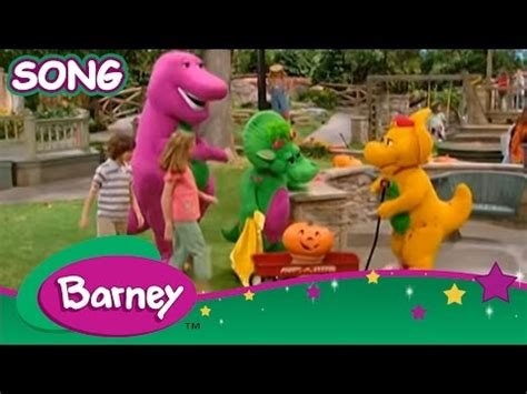 youtube barney and friends halloween party celebration barney friends