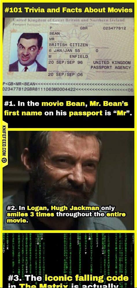 random movies fun facts  trivia  didnt
