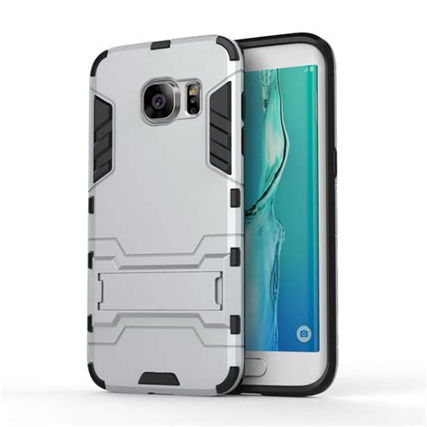 armor style samsung armor style abs back w stand for samsung s7 edge