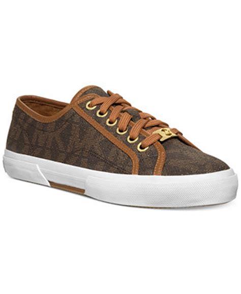 michael kors bedroom slippers michael michael kors boerum sneakers sneakers shoes macy s