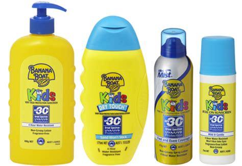 banana boat sunscreen harmful banana boat kids sunscreen packs
