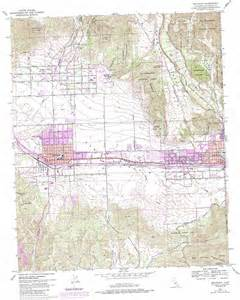 map beaumont beaumont topographic map ca usgs topo 33116h8