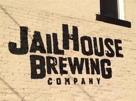 jail house number jailhouse brewing logo wall beer street journal