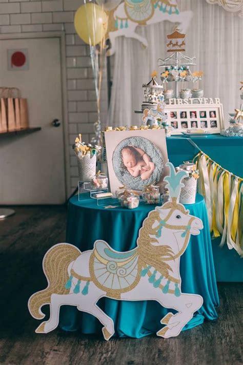 Karas Party  Ee  Ideas Ee   Merry Go Round Carousel  Ee  Birthday Ee