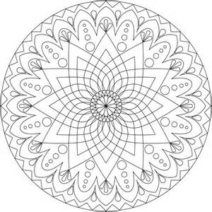 coloring pages printable mandala amp abstract colouring