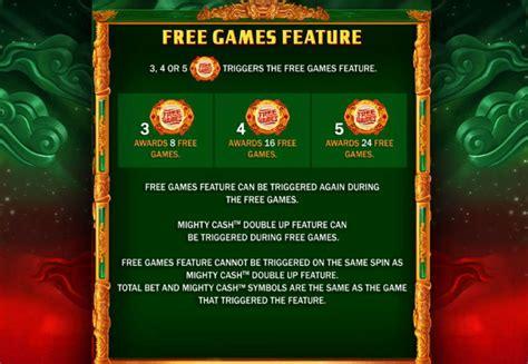 play mighty cash double  money dragons pokies freean aristocrat slot
