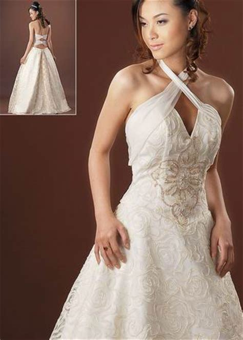 wedding hairstyles for halter dresses halter wedding dresses the wedding specialiststhe