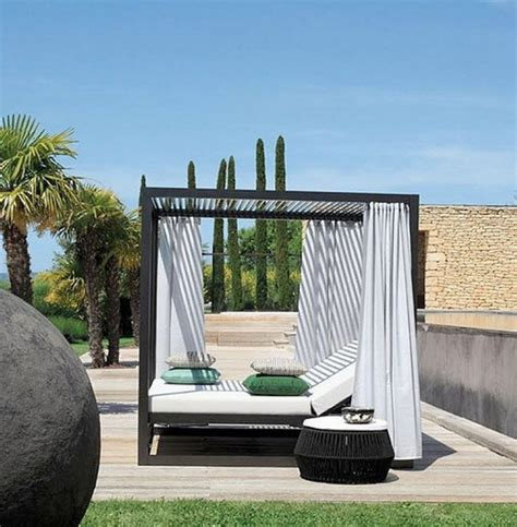 outdoor bed with canopy romantic outdoor canopy beds stylish eve