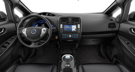 Nissan Leaf Interior by 2014 Nissan Leaf Review Cleantechnica