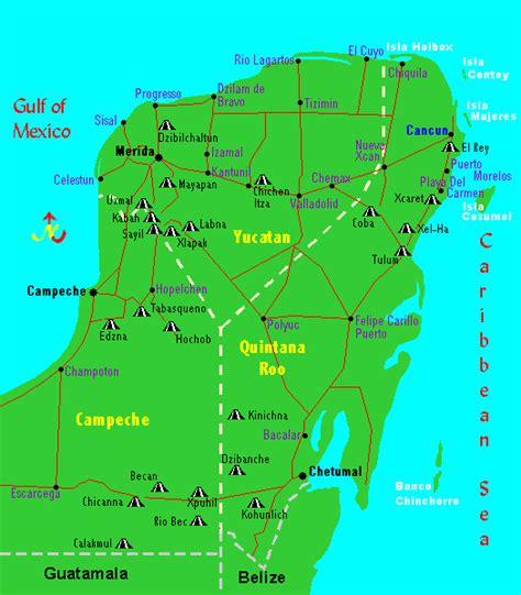 mayan ruins map marinduque my island tropical paradise cancun tulum and