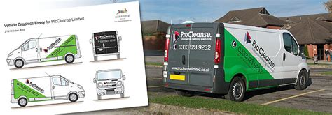 Ultra Modern Kitchen Designs vehicle graphics design for wirral cleaning company procleanse