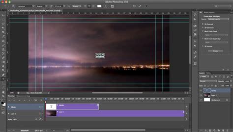 adobe photoshop cs6 tutorial animation creating animation with audio in photoshop cs6 tutorial