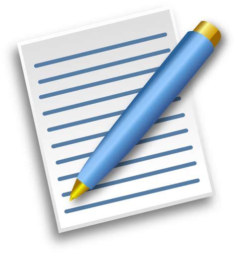 papier und feder pen and paper clipart