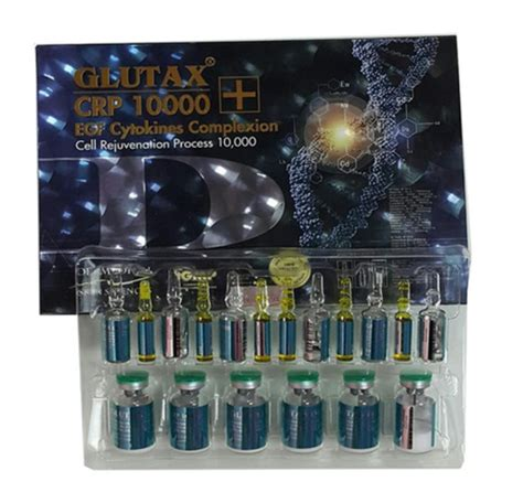 Glutax Crp 10000 glutax crp 10000 egf cytokines complexion injection beauty make up korean circle