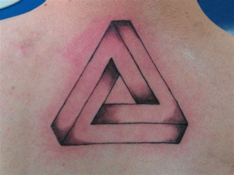 penrose triangle tattoo here s why triangle tattoos are the best tattoos penrose