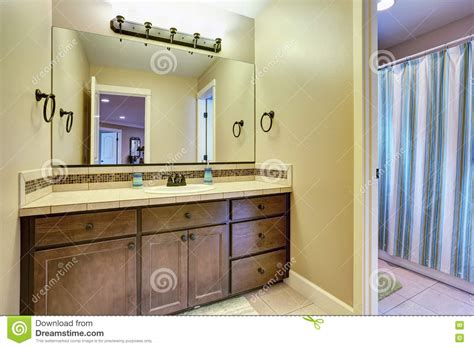 american bathroom typical american bathroom interior design stock photo