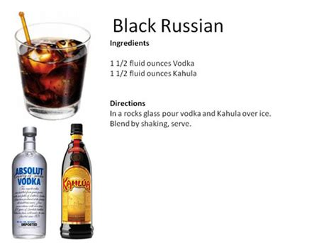 black russian cocktail b midnight mixologist