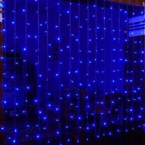 Rideau Lumineux Exterieur by Rideaux Lumineux Led Bleu 2x2 M 232 Tres Pro Illumination