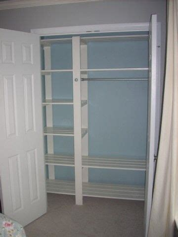 Where To Buy Closet Shelves by Inexpensive Diy Closet Shelving Slatted Shelves So Clothes