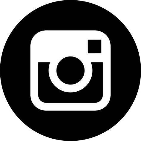 black instagram icon free black social icons instagram logo free social media icons