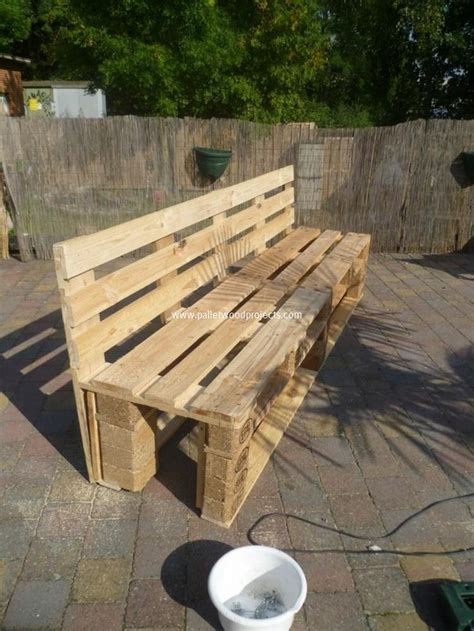 bench made of pallets wood pallet garden bench ideas pallet wood projects