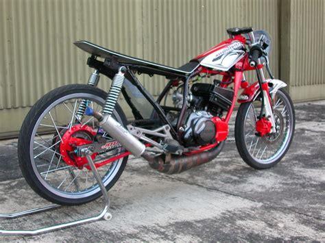 koleksi modifikasi motor rx king menjadi trail terbaru