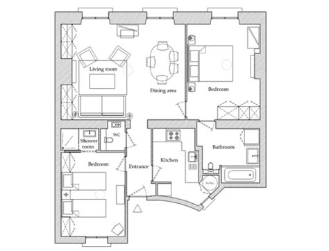 paris apartment floor plans floorplan