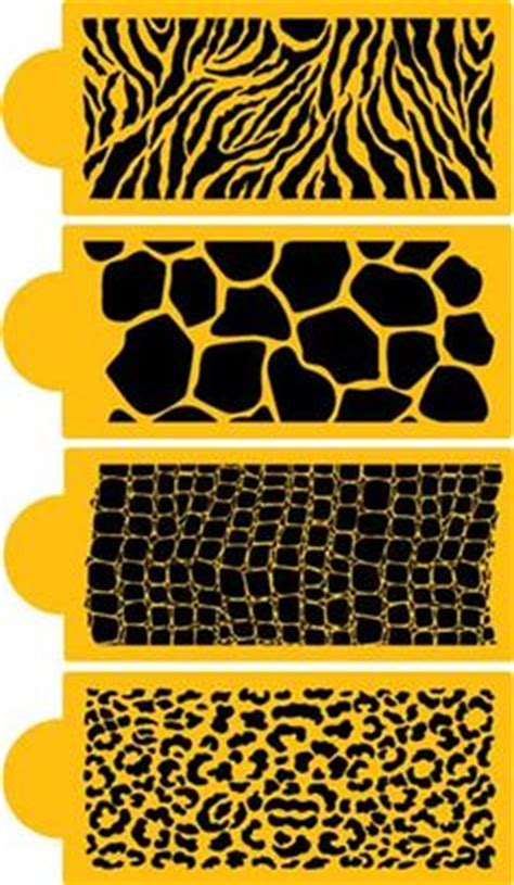 zebra pattern template for cakes animal skins on pinterest animal leopard prints and