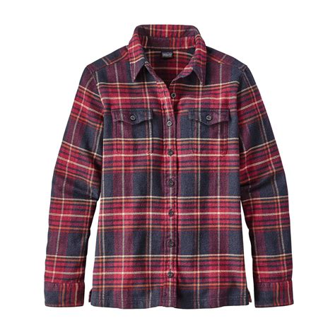 Flanel Flanello s fjord flannel shirt fontana sports