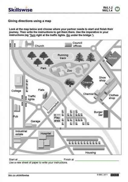 printable exercise instructions map skill worksheet holidaymapq com