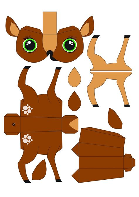 easy papercraft animals www pixshark images