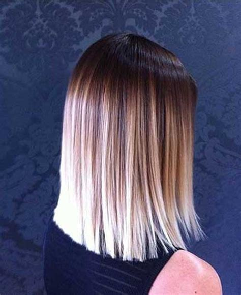 bob hairstyle with ambry long bob ombre hair the best short hairstyles for women 2016