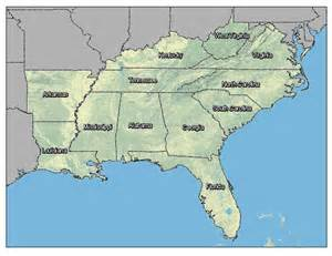 map of south east search results for map of southeast us calendar 2015