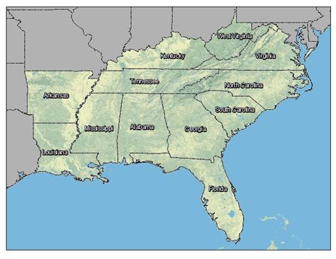 interactive map of southeast usa search results for map of southeast us calendar 2015