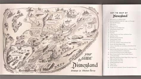 disneyland map coloring page disneyland in 1955 imagineering disney