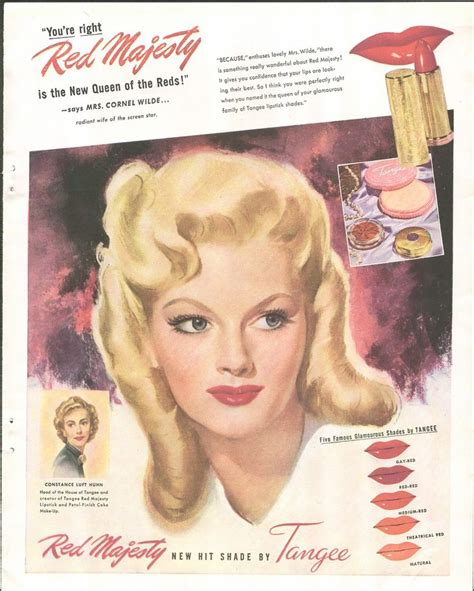1940s Makeup Ad Www Imgkid Authentic 1940s Makeup History And Tutorial