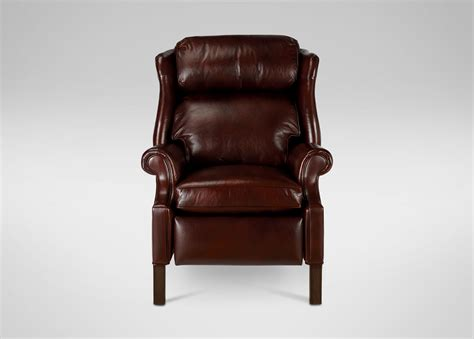 Ethan Allen Recliners Townsend Leather Recliner Recliners
