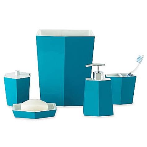 turquoise bath decor by color