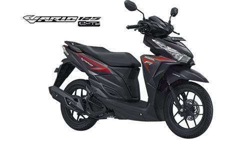 Vario 125cc Tahun 2016 harga honda vario 125 esp dan spesifikasi juli 2018
