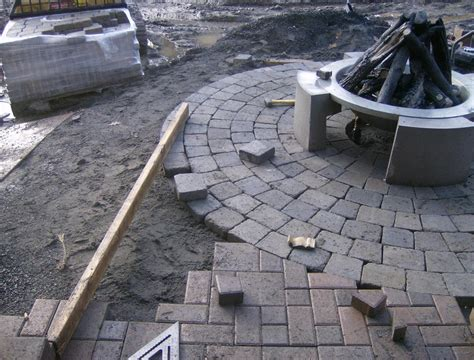 Circle Paver Patio Kits Circle Patio Kit Home Depot Modern Patio Outdoor