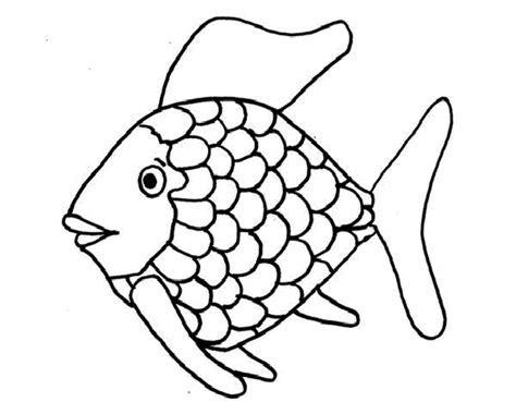fish coloring book - The rainbow fish coloring page rainbow fish ...