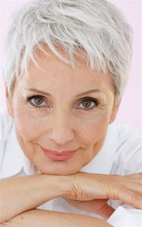 short hairstyles for seniors with grey hair best hairstyle and haircuts for older women hairstyles