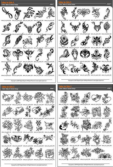 tattoo catalogue pdf tattoo for girls 5 extreme vector clipart for