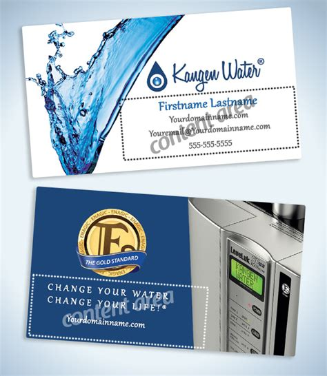 kangen business card templates enagic business cards images business card template