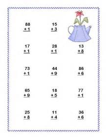 Second grade math review addition and subtraction with and without