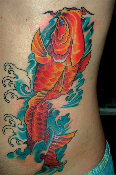 tattoo koi eye 30 rib tattoo ideas for boys and girls