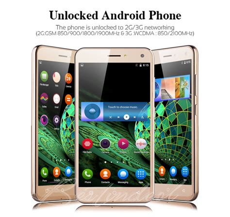 how to carrier unlock android phone cheap 5 0 quot android cell phone talk 2sim 3g wifi gsm unlocked ebay