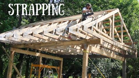 strapping  roof   post  beam  grid outdoor