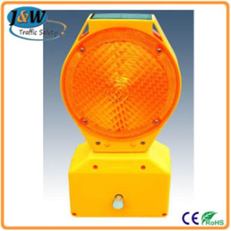 Solar Powered Warning Lights China 2015 Solar Powered Traffic Warning Lights Yellow