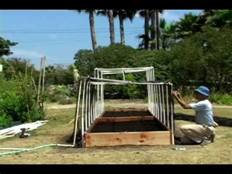 how to protect your raised organic vegetable garden the